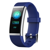 "BT4.0 Water-Proof Smart Wrist Band 0.96"" colorful Touch Screen Smart Bracelet Fitness Tracker Heart Rate Pedometer Sleep Monitor Alarm Compatible IOS & Android"