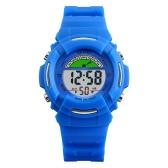 SKMEI Children Sport Digital Watch 5ATM Bambini impermeabili Orologi Retroilluminazione da polso con sveglia