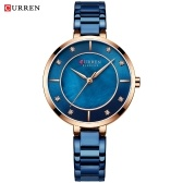 CURREN 9051 Woman Quartz Watch