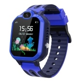 Y52 Kids Smart Watch 1.44 inches Touch Screen LBS GPS Tracker SOS Call Game Voice Chat Camera IP67 Waterproof Wristwatch for Boys Girls