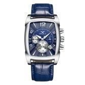 Мужские кварцевые часы с кожаным ремешком Fashion Business 3ATM Наручные часы