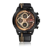 Reloj de cuarzo casual NAVIFORCE 9110 Fashion