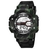SYNOKE Fashion Sport Men Relojes 3ATM resistente al agua Electronic Watch Luminous Man reloj de pulsera Hombre Relogio Musculino Chronograph