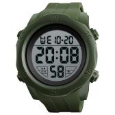 Orologio digitale SKMEI Sport 5ATM Orologi unisex resistenti all'acqua Retroilluminazione Orologio / Settimana / Allarme / Data / Cronografo per bambini