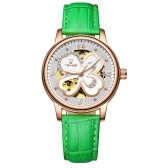 TEVISE T835B Women Automatic Mechanical Watch