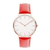 Men Women Fashion Simple Ultra-Thin Watch