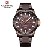 NAVIFORCE NF9152 Men Brand Quartz Watch Luminous Fashion Casual Outdoor Sports Male Waterproof Wristwatch Relogio Masculino with Gift Box