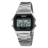 SKMEI coole digitale Männer Frauen Bussiness Armbanduhr Jahrgang leuchtende paar Watch 3ATM wasserdicht multifunktionale Unisex Sport Luxusuhr