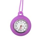 Часы-брелок для медсестер с силиконовым чехлом и шнурком Портативные карманные часы для медсестер с подержанными подвесными часами для медсестер