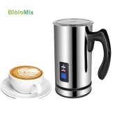 Biolomix Electric Milk Frother Milk Steamer