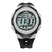 HOSKA 2017 Deportes de múltiples funciones de los estudiantes del reloj digital de luz de fondo a prueba de agua de los 30M muchacha de los niños del muchacho Reloj cronómetro de la alarma de 4 colores + Box