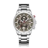 CURREN 2017 Fashion Luminous Stainless Steel Men Watch Quartz Water-Proof Man Business Wristwatch Chrono