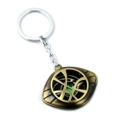 Doctor Strange Naszyjnik Eye of Agamotto Alloy Brelok Kostium Prop Kamienny Wisiorek Exquisite Retro Key Ring
