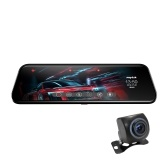 Anytek T12+ ADAS 9.66 inch Touched Car Rearview Mirror DVR Camera