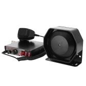 200W 8 Tones Loud Car Warning Alarm Polices Fire Siren Speaking Horn PA Speaker MIC System