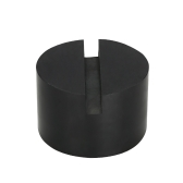 Universal Slotted Rubber Jack Pad Frame Rail Protector 2-inch Height