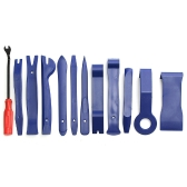 12pcs Blue Auto Car Audio Dash Tirm Painel Instalador Porta Interior Modelagem Clip Set Dashboard Removal Abertura Repair Tool Kit