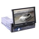 7 polegadas Car Radio 1Din Manual Touch Screen Retrátil Stereo MP5 Player Android 8.1 GPS FM WiFi Bt Player Multimídia