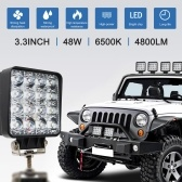 4inch 18W 27W 48W Offroad Car 4WD Truck Tractor Boat Trailer 4x4 SUV ATV 24V 12V Spot LED Light Bar LED Work Light