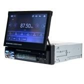 9601 Автомобильный MP5-плеер 7-дюймовый экран Автомобильный стерео AM FM-радио BT Video Media-Player Контактный экран Автомобильная электроника