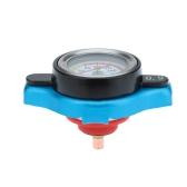 Термостатический радиаторный шапкой крышка с водой температуры термостат 0.9 / 1.1 / 1.3BAR синий