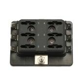 1 Мощность в 6 отвал Предохранитель Box держатель для автомобиля шлюпки морской 12V 24V