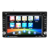 6.2 inch HD Digtal Touch Screen 2 Din Car 6202 DVD Player CD/USB/BT Auto Multimedia Stereo Radio In Dash MP5 Audio Vedio Remote Controller with GPS Navigation