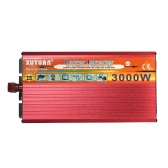 3000W WATT Peak Car LED Power Inverter DC 12V para AC 110V Dual Converter Charger
