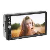 KKmoon 7 pulgadas Universal 2 Din HD BT Car MP5 Radio Player