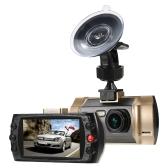 Full HD 1080P Car câmera DVR gravador de carro registrador de vídeo com visão noturna