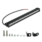 """13 """"36W barra ligera del LED luz delgada del trabajo haz del punto que conduce la iluminación de la carretera de la niebla para el carro del coche SUV barco jeep marino"""