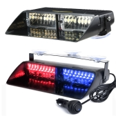 16 LEDs 18 Tryby migania Samochód Truck Emergency Flash Dash Strobe Light