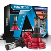Nighteye9005 HB3 60W / set 10000LM Faros delanteros LED Faros antiniebla 3000K 6500K 8000K Plug-N-Play