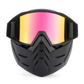 Bike Motorcycle Face Mask Goggles Motocross Eyewear Motorbike Open Face Detachable Goggle Helmets Vintage Glasses