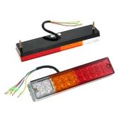 2X 20 LED Stop Rear Tail Reverse Light Indicator Lamp Ute Truck Trailer Caravan