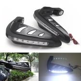 1 пара Универсальные сторожевые гайки мотоцикла Мотокросс Ручные гвардии Комбинация одного набора