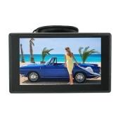 Monitor del estacionamiento de la pantalla del tablero del monitor LCD del coche de la pantalla a color de 4.3 pulgadas TFT