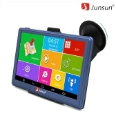 Junsun WIFI Car GPS Navigation 7 inch Touchscreen Built-in 16G with Europe Maps