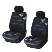 Housse de siège auto brodée Butterflypattern Universal Butterflies