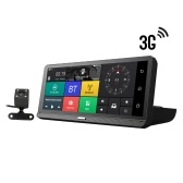 12V GPS Navigation 3G Android 5.1 WIFI FHD 1080P Dual Lens Parking Surveillance BT ADAS Car GPS DVR Camera Navigator
