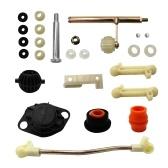 Kit di riparazione selettore manuale Circuito di trasmissione manuale Adatto per la leva del cambio Jetta 2 marce VW Golf 2 II 4D1