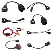 8 In 1 Car Full Truck Cables Set for T-C-S Auto Scanner C-D-P With O-B-D 2 Wire Adapter Connectors