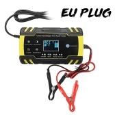 24V 4A Fully Intelligent Pulse Fix Charge Device T-o-u-c-h Screen Car Motorcycle Cell Charge