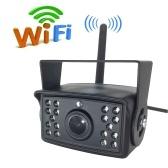 Telecamera di backup del veicolo WIFI wireless 24V utilizzata per camion Bus Telecamera impermeabile retrovisore per visione notturna auto HD