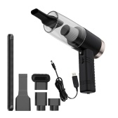 12V 120W High Power Suction Car Vacuum Cleaner 4500(mbar) Wet Dry Handheld Vacuum Cleaner Built-in Aromatherapy