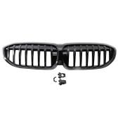 2 шт. Глянцевый черный передний бампер капот решетка радиатора гоночная решетка Замена для BMW G20 3-й серии