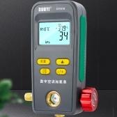 Digital Manifold Gauge Vacuum Pressure Temperature Leakage Tester Fluoride Meter HVAC System Gauge for Air Conditioner Refrigerator
