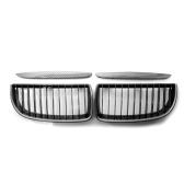 Un par de rejilla de riñón de parachoques delantero para capó, rejilla de riñón delantera de repuesto para BMW E90 E91