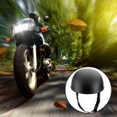 Motorrad Half Open Face Helm Matt Schwarz Schutz Shell Helm für Scooter Bike