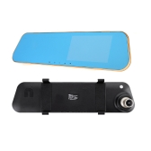 4.3 inch 1080P 120 Degree Wide Angle Car DVR Rearview Mirror Car Camera